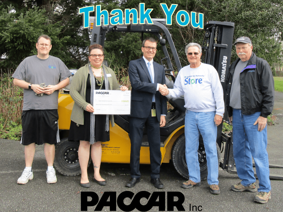 PACCAR Inc Thanks